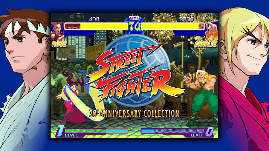 street fighter 30th anniversary collection alpha