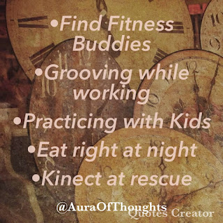 Mantra to stay fit - Aura of thoughts