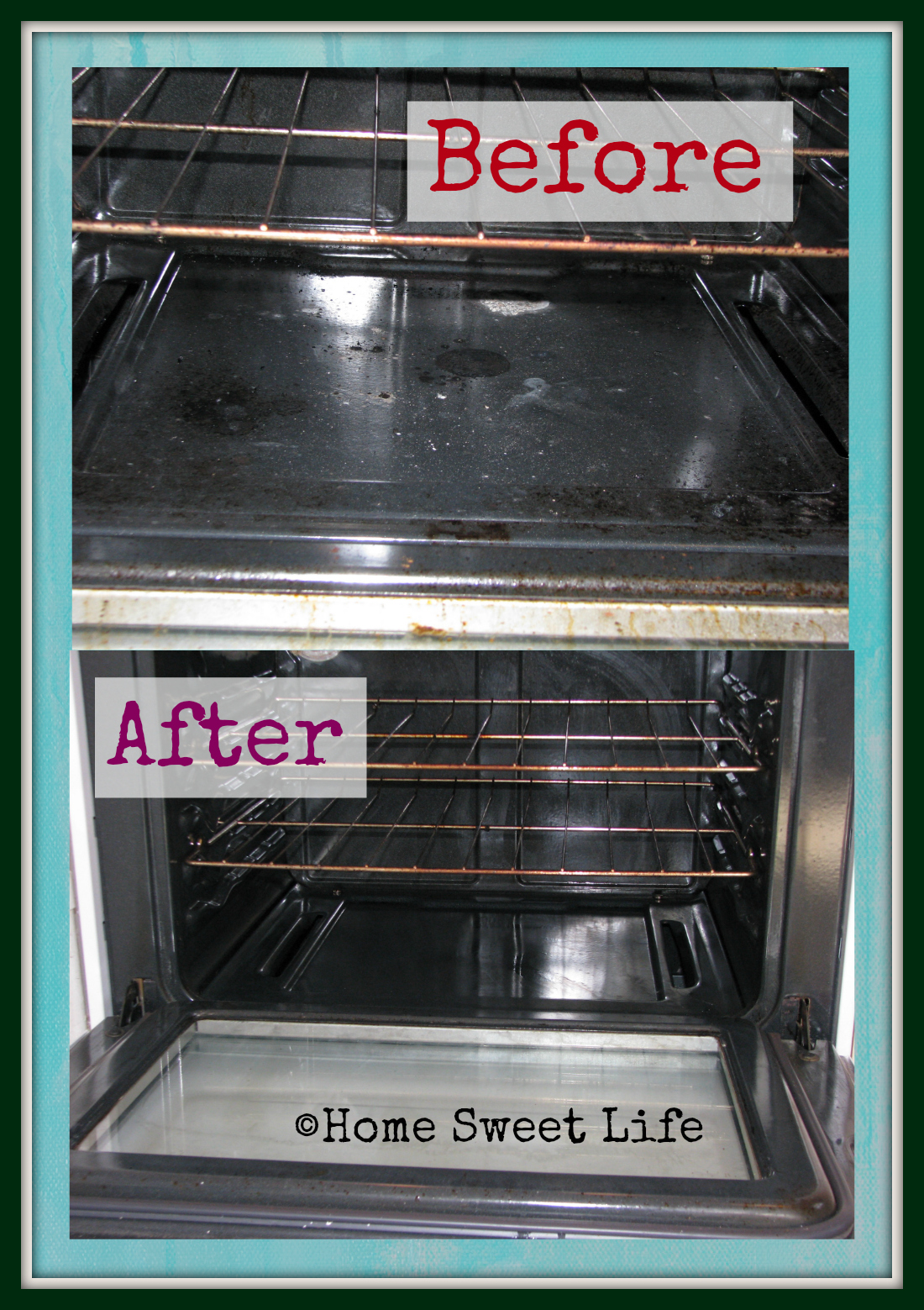 34 weeks of cleaning with friends - the stove
