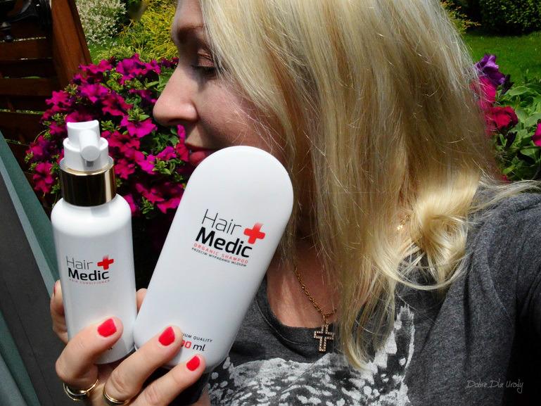 Kosmetyki  przeciw wypadaniu włosów Hair Medic recenzja