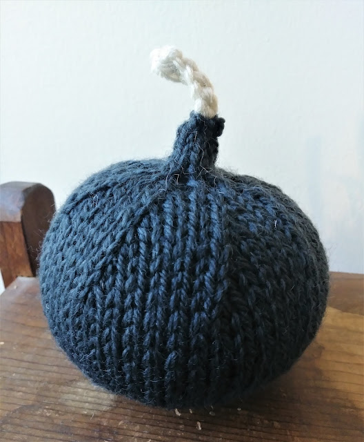 It's a knitted f bomb.