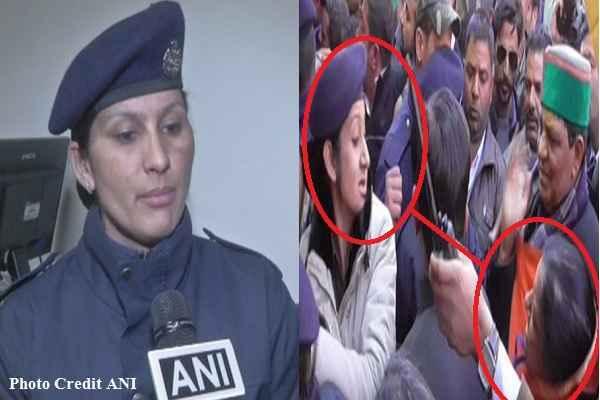 आप भी जानें इस महिला कांस्टेबल का नाम जिसमें जड़ दिया कांग्रेस विधायक आशा कुमारी को जवाबी चांटा