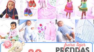20 Prendas de Bebés para Tejer
