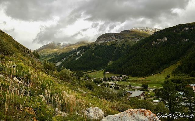 Sentier des balcons de Val d'Isère