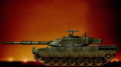 Alat tempur tank masa Perang Dunia 1 dan 2