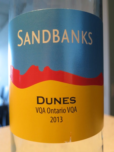 Wine Review of 2013 Sandbanks Estate Dunes Vidal from VQA Ontario, Canada (88 pts)
