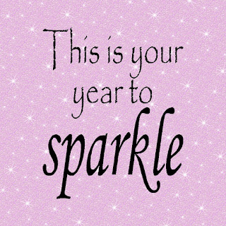 Whatever your New Years resolutions are This is your year to Sparkle! Remember to do that all year long with this printable quote set.  You'll find this fun quote printable in many different sizes as well as a Facebook cover photo and phone wallpaper!