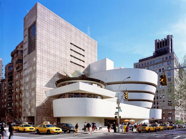 World Visits Guggenheim High Art Museum Spain