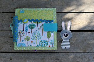 Little Bunny day quiet book