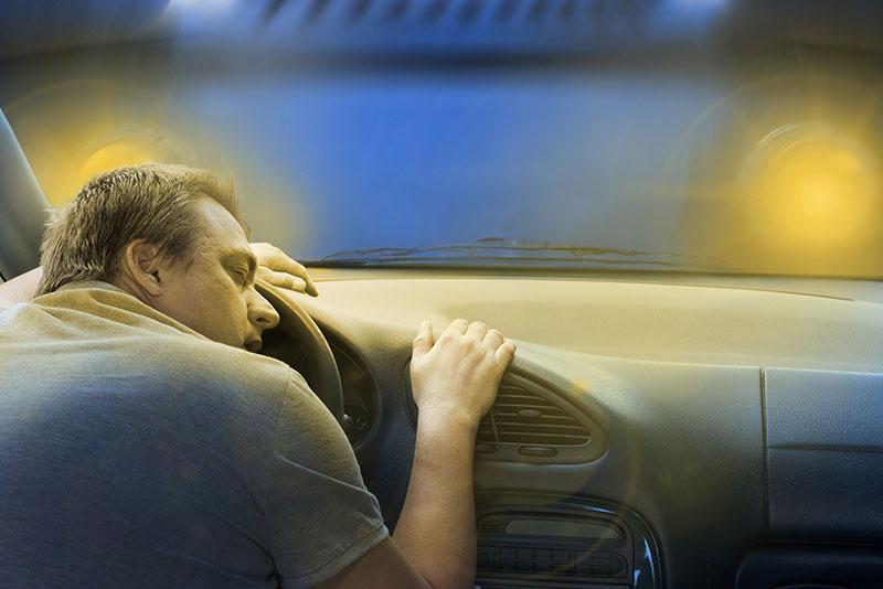 Bezdech senny a wypadki drogowe