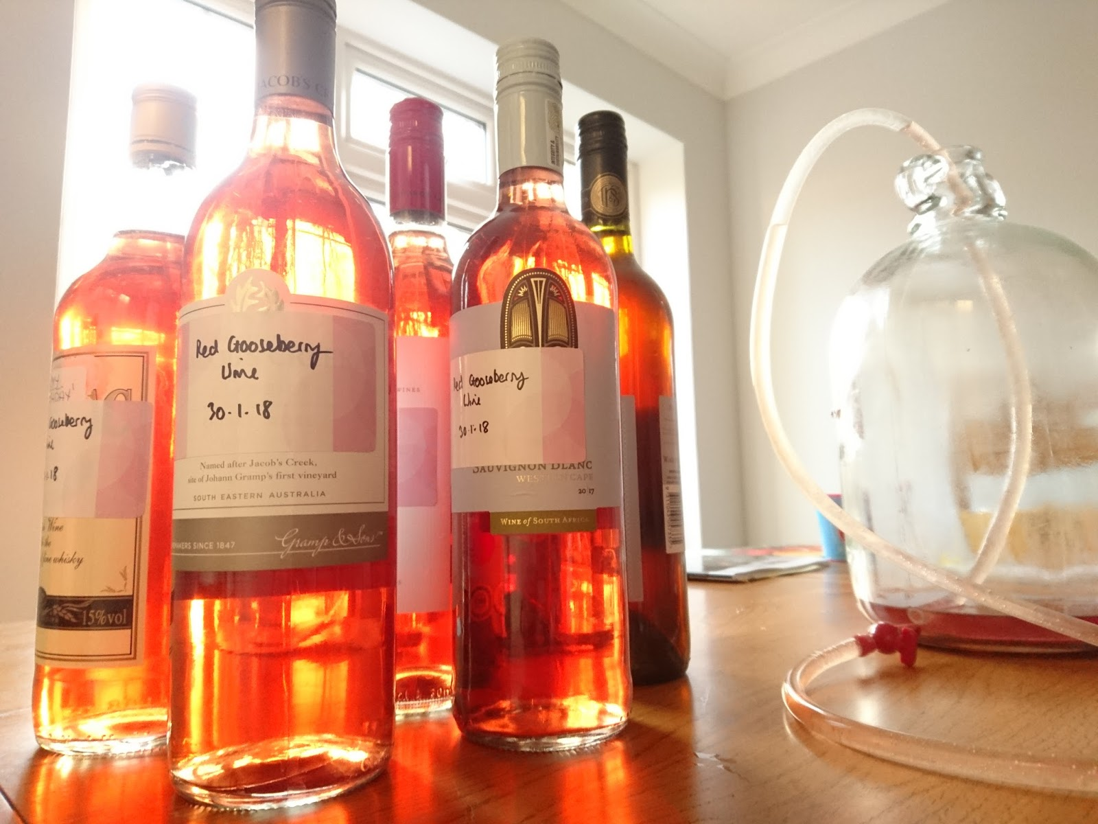 Homemade wine - please yourself, surprise guests 64