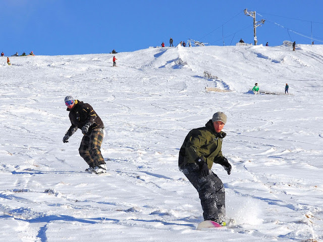 One of England's most popular ski destinations-Yad Moss. Photo: onemanmows.