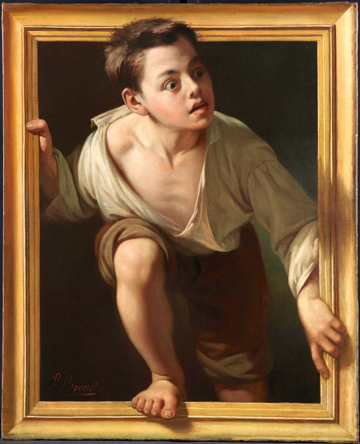 Pere Borrell -  Fleeing the Critic