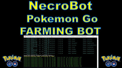 Download Bot Pokemon Go NecroBot 0.7.5 Update Terbaru (Work 100%)