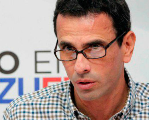 """Capriles: """"La crisis que hay no es por falta de diálogo"""""""