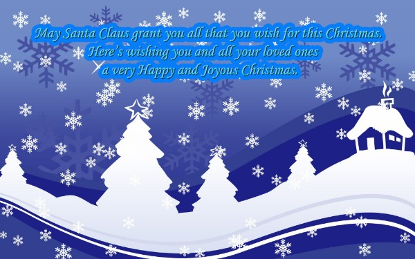 Special Christmas Wishes for your family