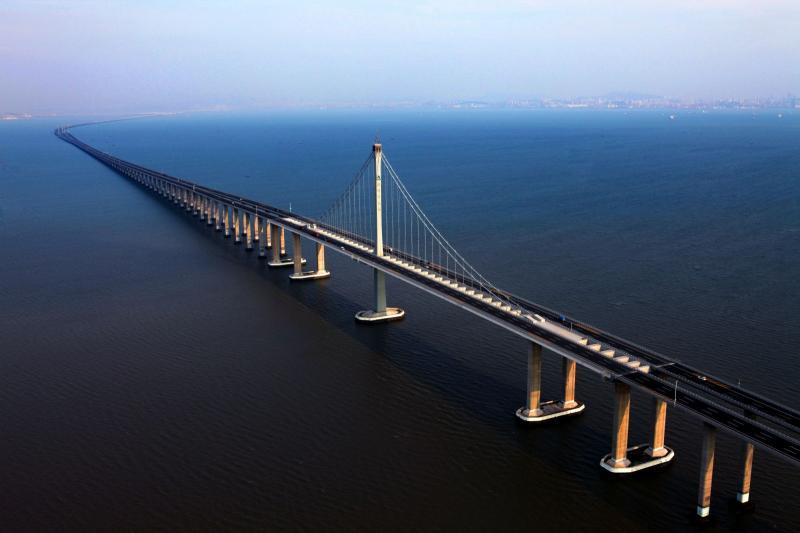 Engineering Marvel The World 39 S Longest Sea Bridge