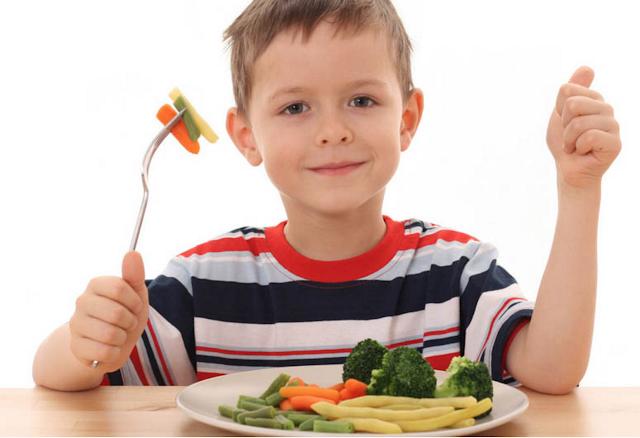 dieta para niños obesos