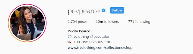Pevita Pearce Instergram