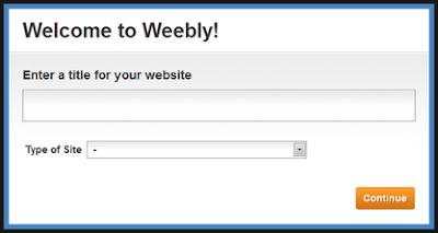 Website Di Weebly