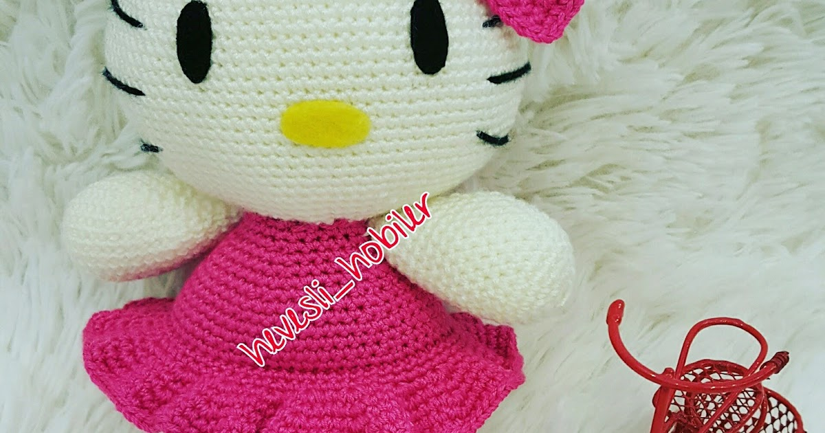 Amigurumi Hello Kitty - FREE Crochet Pattern | Hello kitty crochet ... | 630x1200