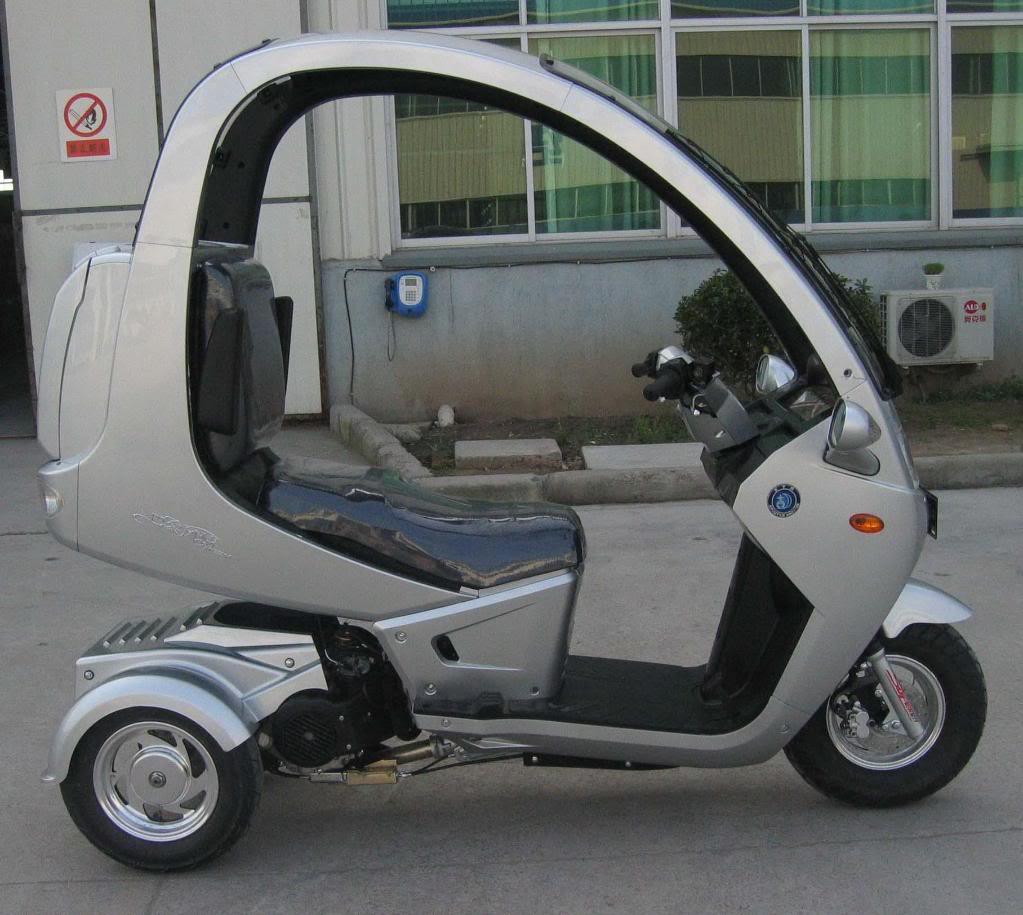 Modifikasi Motor Menjadi Mobil
