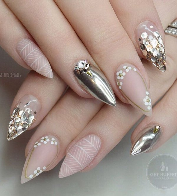 Stunning Rhinestone Nail Art Ideas For Inspiration Fine Art And You