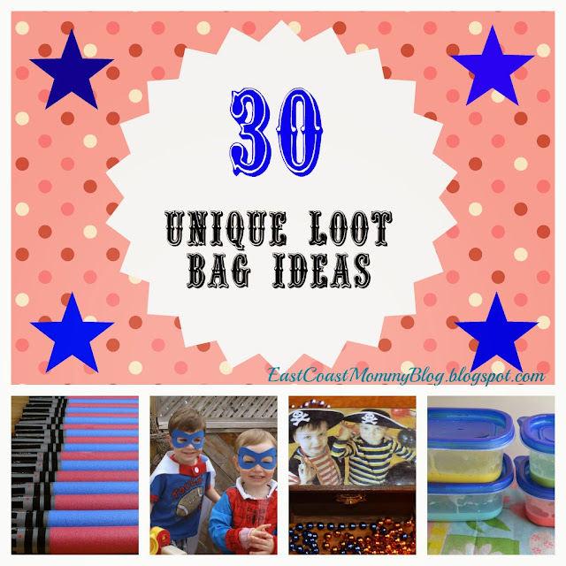 East Coast Mommy 5 Unique Loot Bag Ideas