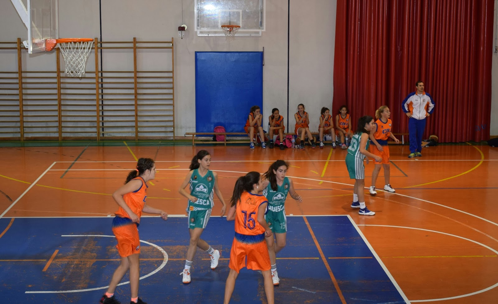 CLUB BALONCESTO JACA: INFANTIL FEMENINO:CB JACA 24 - 37 MULTIENERGIA ...