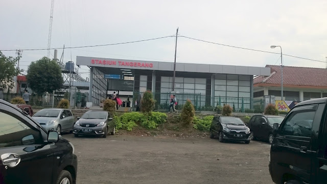 Tangerang Commuter Station - Image: Author