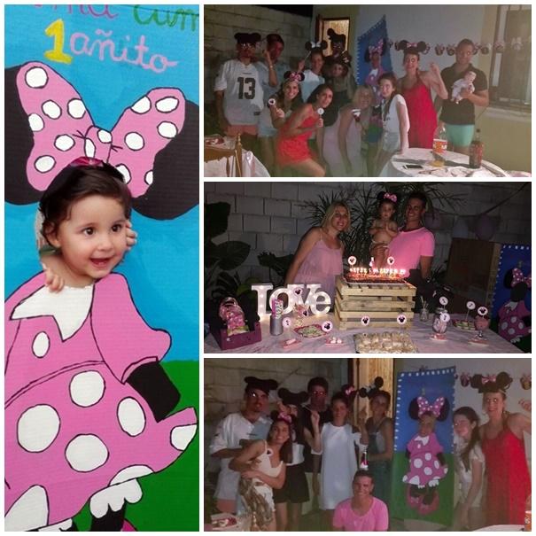 Un cumpleaños de Minnie Mouse lowcost