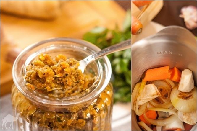 Domowa kostka rosołowa / pasta bulionowa