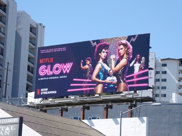 Glow series launch billboard
