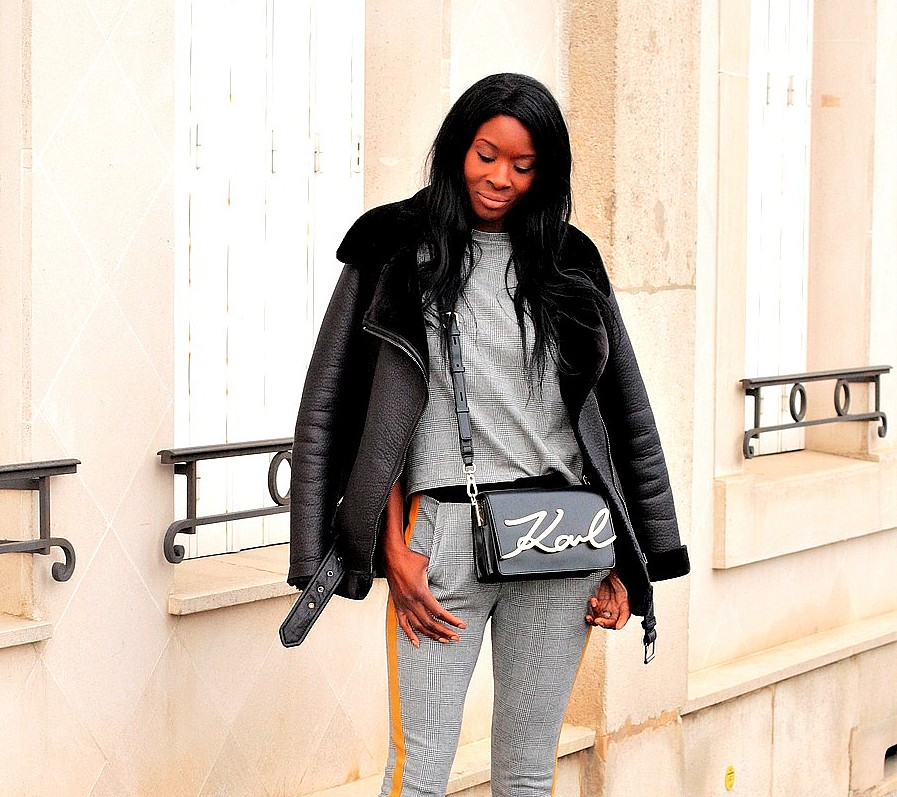 stylesbyassitan-wearing-karl-lagerfeld-signature-bag