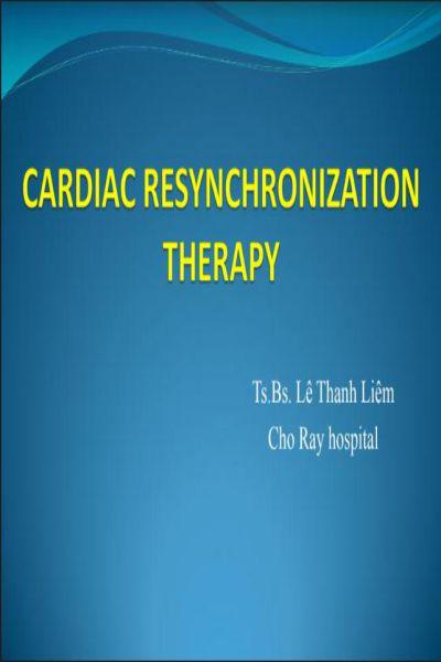 23   Cardiac resynchronizontion therapy