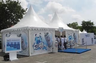 Tenda Sarnafil / Kerucut (5x5)