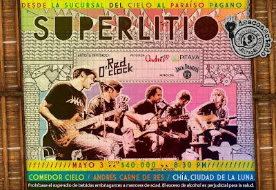 Superlitio en Bogotá