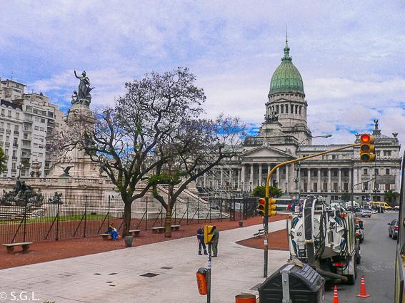 Edificio del congreso nacional de Buenos Aires