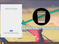 Cara Hapus Iklan / Ads di Phoenix OS v3.0.6.479