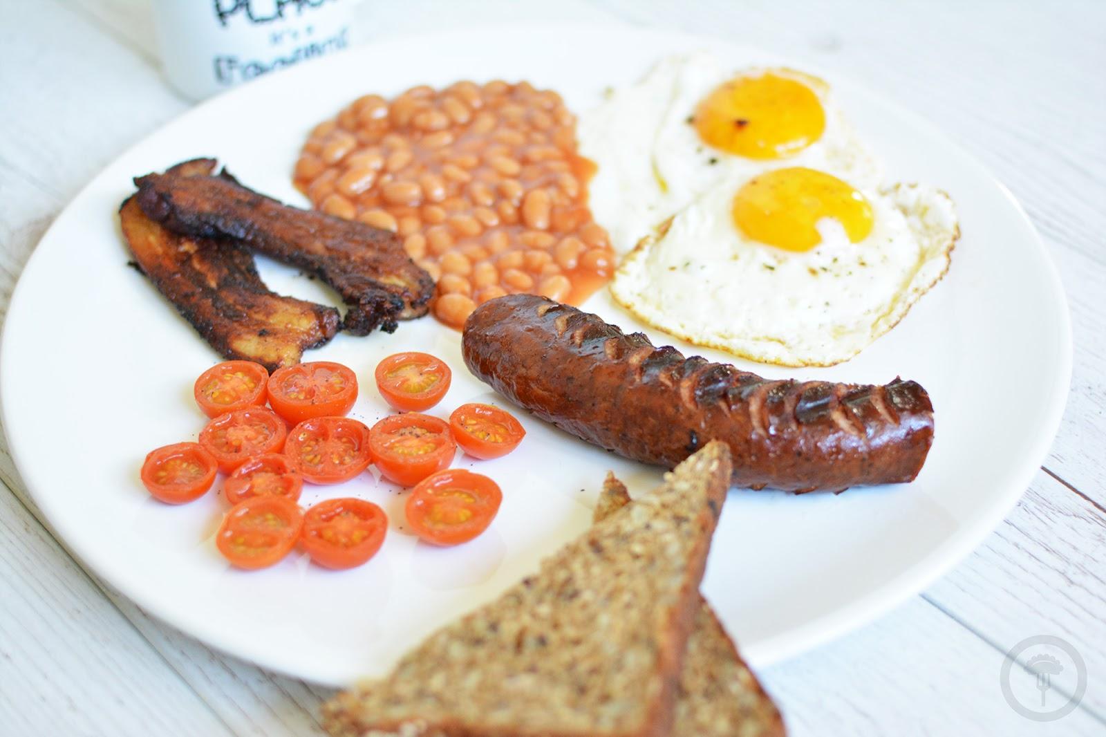 english breakfast angielskie śniadanie