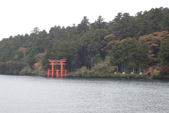 Boat ride at Lake Ashi