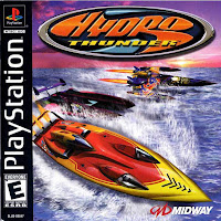 Hydro Thunder balap perahu motor sub-game seri, awalnya merupakan