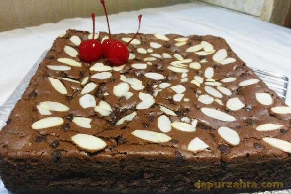 Resep Brownies Panggang Tipis Dan Tips Membuat Shiny Crust
