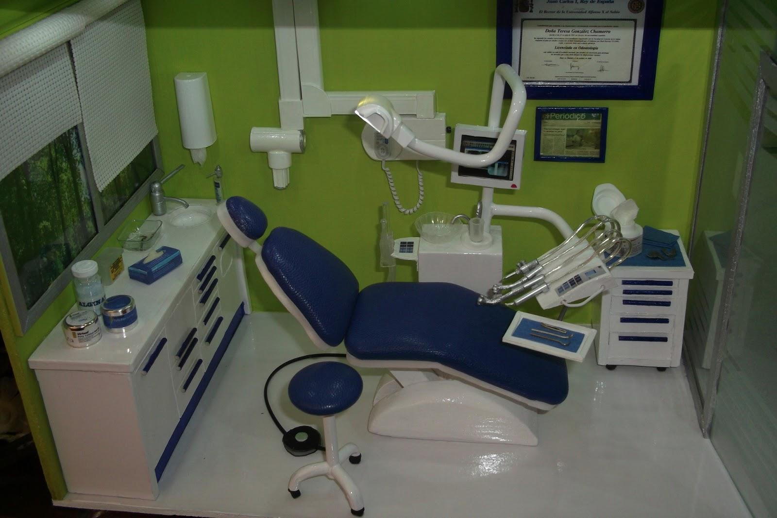 Decorar Con Miniaturas Clínica Dental El Resultado Final