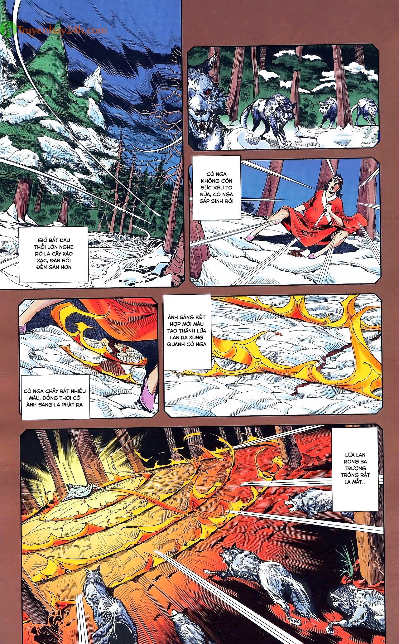Tần Vương Doanh Chính chapter 29.2 trang 14