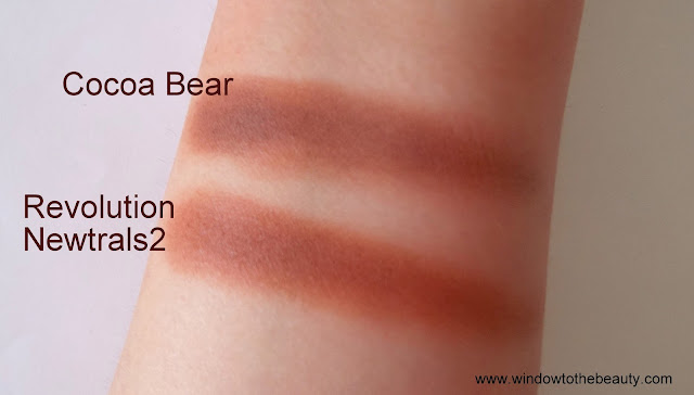 Makeup Geek Cocoa Bear cheap  dupes swatches