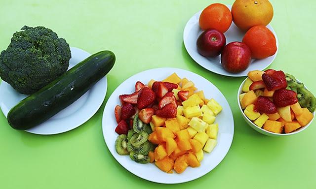 Ministerio de Salud, Frutas y Verduras