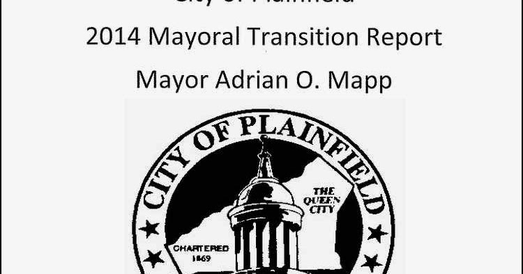 PLAINFIELD TODAY: Mapp to unveil Transition report at
