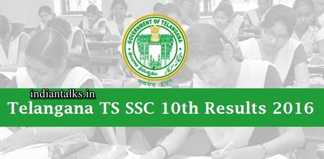 Telangana-TS-SSC-10th-Results-2016