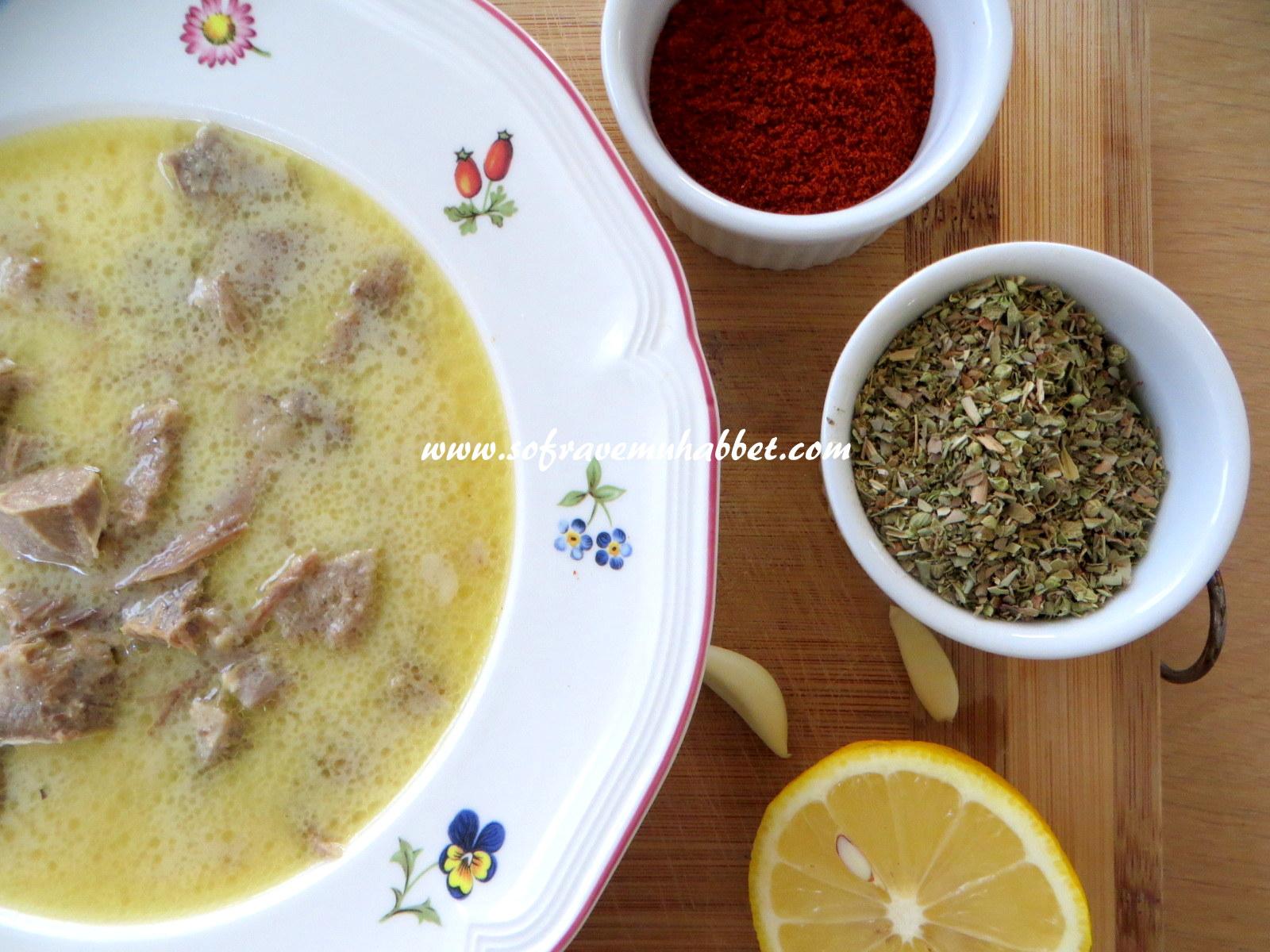 maraş usulü kelle paça çorbası nasıl yapılır